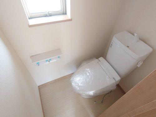 2階トイレ シャワー便座