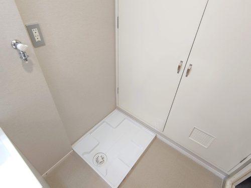 洗濯機用水栓・防水パン